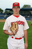 Sept. 5th, 2007:  Nick Additon of the Batavia Muckdogs, Short-Season Class-A affiliate of the St. Louis Cardinals at Dwyer Stadium in Batavia, NY.  Photo by:  Mike Janes/Four Seam Images