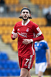 St Johnstone v Aberdeen…10.04.21   McDiarmid Park   SPFL<br />Fraser Hornby<br />Picture by Graeme Hart.<br />Copyright Perthshire Picture Agency<br />Tel: 01738 623350  Mobile: 07990 594431