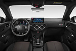 Stock photo of straight dashboard view of 2021 Ds DS-3-Crossback Performance-Line 5 Door SUV Dashboard