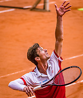 The Hague, Netherlands, 09 June, 2018, Tennis, Play-Offs Competition, Antal van der Duim (NED)<br /> Photo: Henk Koster/tennisimages.com