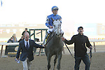 April 4, 2015: Frosted with Joel Rosario wins the91st running of the Grade I Twinspires.com Wood Memorial for 3-year olds, going 1 1/8 mile at Aqueduct Racetrack. Trainer:Kiaran McLaughlin. Owner: Godolphin Stable . Sue Kawczynski/ESW/CSM