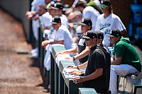 Coach Alex Sogard's Wright State Raiders faced the Duke Blue Devils in NCAA Regional play on Robert M. Lindsay Field at Lindsey Nelson Stadium on June 5, 2021, in Knoxville, Tennessee. (Danny Parker/Four Seam Images)