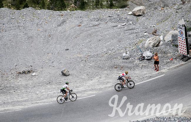 up the Col de l'Izoard (HC/2354m/14.2km@7%)<br /> <br /> Stage 18: Embrun to Valloire(208km)<br /> 106th Tour de France 2019 (2.UWT)<br /> <br /> ©kramon