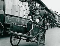 Lastrad in Schanghai, China 1976