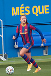 Liga IBERDROLA 2020-2021. Jornada: 10<br /> FC Barcelona vs Santa Teresa: 9-0.<br /> Lieke Martens.