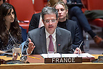 Security Council meeting The situation in the Middle East Report of the Secretary-General on the imp