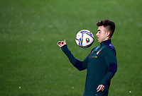 Italy's Stephan El Shaarawy warms up before the start of the UEFA Nations League football match between Italy and Netherlands at Bergamo's Atleti Azzurri d'Italia stadium, October 14, 2020.<br /> UPDATE IMAGES PRESS/Isabella Bonotto