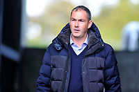 Paul Clement Manager of Reading arrives for the Sky Bet Championship match between Swansea City and Reading at the Liberty Stadium in Swansea, Wales, UK. 27th October, 2018