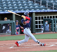 Richard Palacios - Cleveland Indians 2021 spring training (Bill Mitchell)