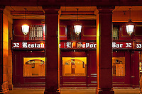 El Soportal Restaurant, Plaza Mayor, Madrid, Spain