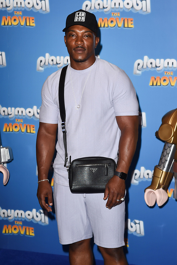 """Ashley Walters<br /> arriving for the """"Playmobil:The Movie"""" premiere at the Vue Leicester Square, London<br /> <br /> ©Ash Knotek  D3515  04/08/2019"""