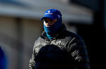 November 2, 2020: Brad Cox at Keeneland Racetrack in Lexington, Kentucky on November 2, 2020. Alex Evers/Eclipse Sportswire/Breeders Cup
