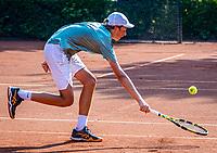 Hilversum, Netherlands, August 5, 2021, Tulip Tennis center, National Junior Tennis Championships 16 and 18 years, NJK, boys single 16 years, Pepijn Bastiaansen (NED)<br /> Photo: Tennisimages/Henk Koster
