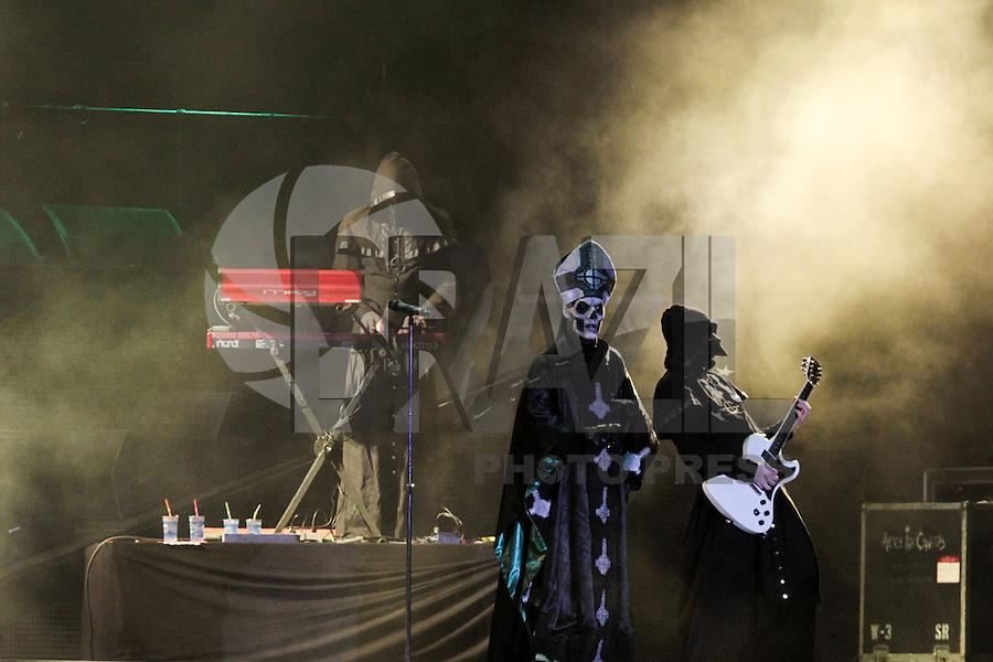 RIO DE JANEIRO, RJ, 19.09.2013 - A banda Ghost B.C. se apresenta no palco Mundo no quarto dia do Rock in Rio 2013 na Cidade do Rock. (Foto. Néstor J. Beremblum / Brazil Photo Press).