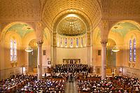 Commonwealth Chorus at Holy Name church, West Roxbury, MA. Boston. Mozart Requiem.