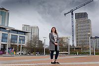 2020 03 09 Jess Popkin in Cardiff, Wales, UK.