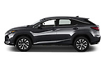Car Driver side profile view of a 2021 Lexus RX 350 5 Door SUV Side View