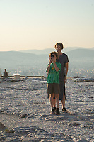Max and Alex, Acropolis, Athens, Greece