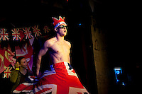 The South London gay venue hosts a benefit party for Peter Tatchells equal love charity which campaigns for the right to gay marriage. The event was held at the same time as the Royal Wedding.