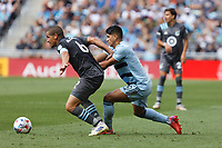 ST. PAUL, MN - AUGUST 21: Osvaldo Alonso #6 of Minnesota United FC during a game between Sporting Kansas City and Minnesota United FC at Allianz Field on August 21, 2021 in St. Paul, Minnesota.
