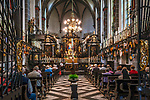 Deutschland, Nordrhein-Westfalen, Kevelaer: Kerzenkapelle - Altarraum | Germany, Northrhine-Westphalia, Kevelaer: Chapel of Candles - altar