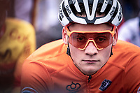 Mathieu van der Poel (NED)  pre race focus <br /> <br /> Men's Elite race<br /> UCI 2020 Cyclocross World Championships<br /> Dübendorf / Switzerland<br /> <br /> ©kramon