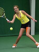 05-12-10, Tennis, Almere, Reaal WJC Masters, Claire Verwerda
