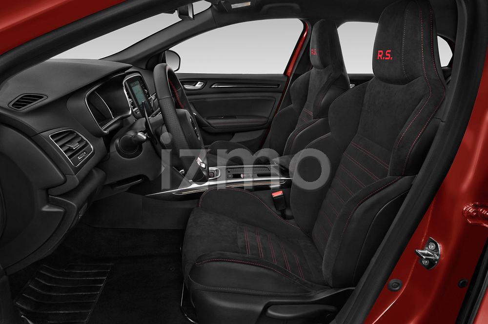 Front seat view of a 2018 Renault Megane R.S. base 5 Door Hatchback front seat car photos