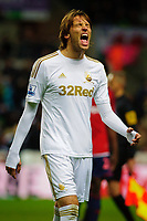 Sunday, 28 November 2012<br /> Pictured:Michu.<br /> Re: Barclays Premier League, Swansea City FC v West Bromwich Albion at the Liberty Stadium, south Wales.