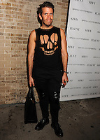 NEW YORK CITY, NY, USA - SEPTEMBER 03: Perez Hilton arrives at the Flaunt Magazine Distress Issue Launch held at Gilded Lily on September 3, 2014 in New York City, New York, United States. (Photo by Celebrity Monitor)
