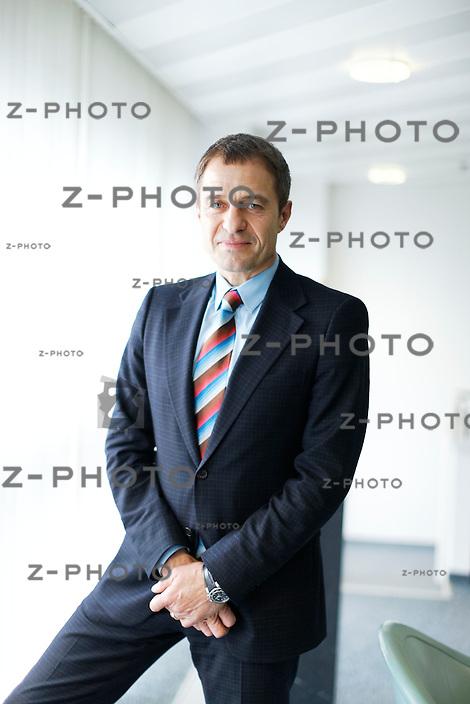 Interview mit Bernhard Bauhofer CEO von Sparringpartners im Hauptsitz in Wollerau am 25. Januar 2011..Copyright © Zvonimir Pisonic