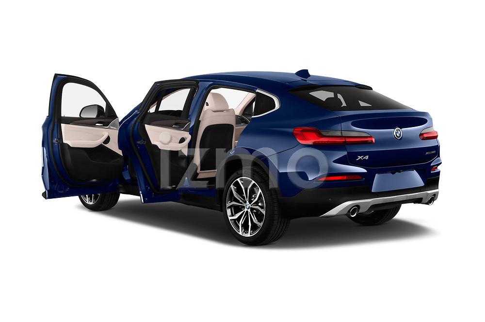 Car images close up view of a 2018 BMW X4 x Line 5 Door SUV doors