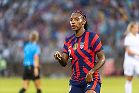 EAST HARTFORD, CT - JULY 1: Crystal Dunn #2 of the United States during a game between Mexico and USWNT at Rentschler Field on July 1, 2021 in East Hartford, Connecticut.