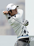 SUZHOU, CHINA - APRIL 16:  Kim Do-hoon of South Korea tees off on the 12th hole during the Round Two of the Volvo China Open on April 16, 2010 in Suzhou, China. Photo by Victor Fraile / The Power of Sport Images