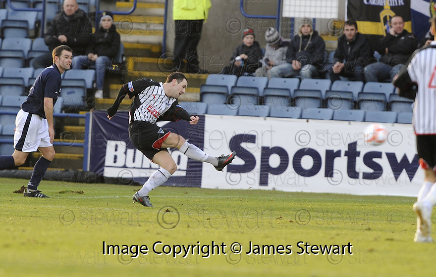 17/01/2010  Copyright  Pic : James Stewart.sct_jspa_04_dundee_v_dunfermline  .:: DAVID GRAHAM SCORES DUNFERMLINE'S FIRST::.James Stewart Photography 19 Carronlea Drive, Falkirk. FK2 8DN      Vat Reg No. 607 6932 25.Telephone      : +44 (0)1324 570291 .Mobile              : +44 (0)7721 416997.E-mail  :  jim@jspa.co.uk.If you require further information then contact Jim Stewart on any of the numbers above.........