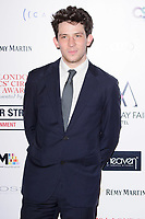 Josh O'Connor<br /> arriving for the Critic's Circle Film Awards 2018, Mayfair Hotel, London<br /> <br /> <br /> ©Ash Knotek  D3374  28/01/2018
