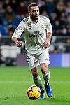 Dani Carvajal of Real Madrid during La Liga match between Real Madrid and Rayo Vallecano at Santiago Bernabeu Stadium in Madrid, Spain. December 15, 2018. (ALTERPHOTOS/Borja B.Hojas)