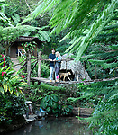 The owners of Eco-Alojamiento El Manantial, <br /> Oscar and ?.<br /> <br /> An eco-lodge in the mountains of Topes de Collantes in Central Cuba - between the cities of Trinidad and Cienfuegos