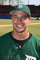 March 23, 2010:  Joe Sclafani of the Dartmouth Big Green after a game at the Chain of Lakes Stadium in Winter Haven, FL.  Photo By Mike Janes/Four Seam Images
