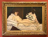 Francia Parigi Musée d'Orsay - Eduard Manet - Olympia , 1863