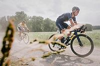 Casper Pedersen (DEN/Aqua Blue)<br /> <br /> 3rd Dwars Door Het hageland 2018 (BEL)<br /> 1 day race:  Aarschot > Diest: 198km