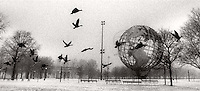 Unisphere in Winter<br />