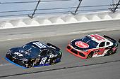 #18: Jeffrey Earnhardt, Joe Gibbs Racing, Toyota Supra iK9 and #20: Christopher Bell, Joe Gibbs Racing, Toyota Supra Rheem