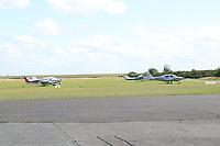 Flugzeuge auf dem Flughafen von Wangerooge - Wangerooge 20.07.2020: Flug nach Wangerooge