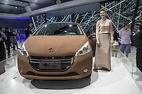 SAO PAULO, SP - 05.11.2014 - SALÃO DO AUTOMÓVEL - Peugeot Natural apresentado nesta quarta-feira (5) no Salão Internacional do Automóvel em São Paulo.<br /> <br /> <br /> (Foto: Fabricio Bomjardim / Brazil Photo Press)