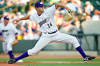 Starting pitcher Ryan Buch #26 of the Winston-Salem Dash in action against the Kinston Indians at BB&T Ballpark on June 4, 2011 in Winston-Salem, North Carolina.   Photo by Brian Westerholt / Four Seam Images