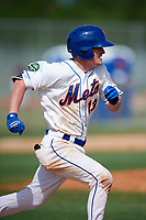 Jack Filby (13) while playing for Mets Scout Team based out of New York City, New York during the WWBA World Championship at the Roger Dean Complex on October 21, 2017 in Jupiter, Florida.  Jack Filby is a third baseman / catcher / middle infielder from Sacramento, California who attends C. K. Mcclatchy High School.  (Mike Janes/Four Seam Images)