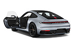 Car images close up view of a 2020 Porsche 911 Carrera S 2 Door Coupe doors