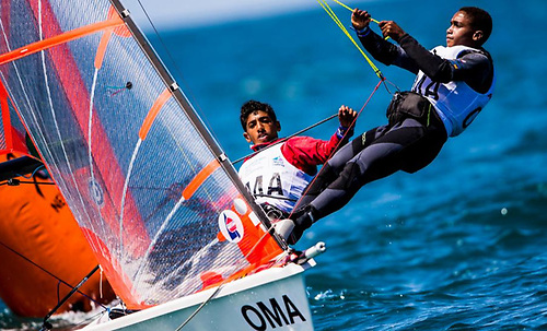 The 50th edition of the Youth Sailing World Championships will be held at Mussanah Sports City, Oman