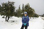 Judea, snow in Gush Etzion